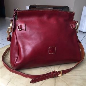 Dooney & Bourke Florentine Red leather handbag